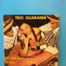 Discos de vinilo: TRIO GUARANIA. BEREFON.. Lote 204253611