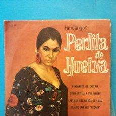 Discos de vinilo: PERLITA DE HUELVA. BELTER.. Lote 204257955