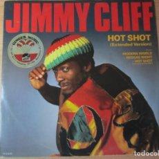 Discos de vinilo: DISCO VINILO JIMMY CLIFF HOT SHOT. Lote 204259147