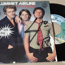 Discos de vinilo: SINGLE- PLUMMET AIRLINE - IT' HARD / MY TIME IN A WHILE - PLUMMET AIRLINE. Lote 204264866