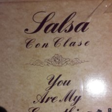 Discos de vinilo: SALSA CON CLASE-YOU ARE MY EVERYTHING. Lote 204265885