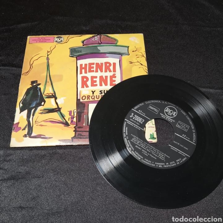 EP VINILO HENRI RENÉ Y SU ORQUESTA PARÍS ES PARA LOS ENAMORADOS (Música - Discos de Vinilo - Maxi Singles - Orquestas)