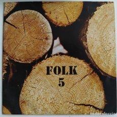 Discos de vinilo: XESCO BOIX I GRUP EL SAC - FOLK 5 (EP, PROMO) (EDIGSA, ALS 4 VENTS) 20.041 ET. Lote 204320267