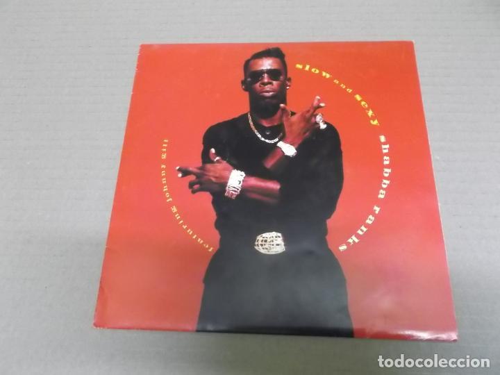 SHABBA RANKS (SN) SLOW AND SEXY AÑO – 1993 - PROMOCIONAL (Música - Discos - Singles Vinilo - Rap / Hip Hop)