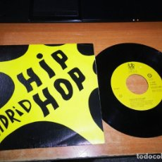 Discos de vinilo: MADRID HIP HOP D.N.I. VAS A ALUCINAR / SINDICATO DEL CRIMEN JUANA SINGLE VINILO PROMO 1989 2 TEMAS. Lote 204325236