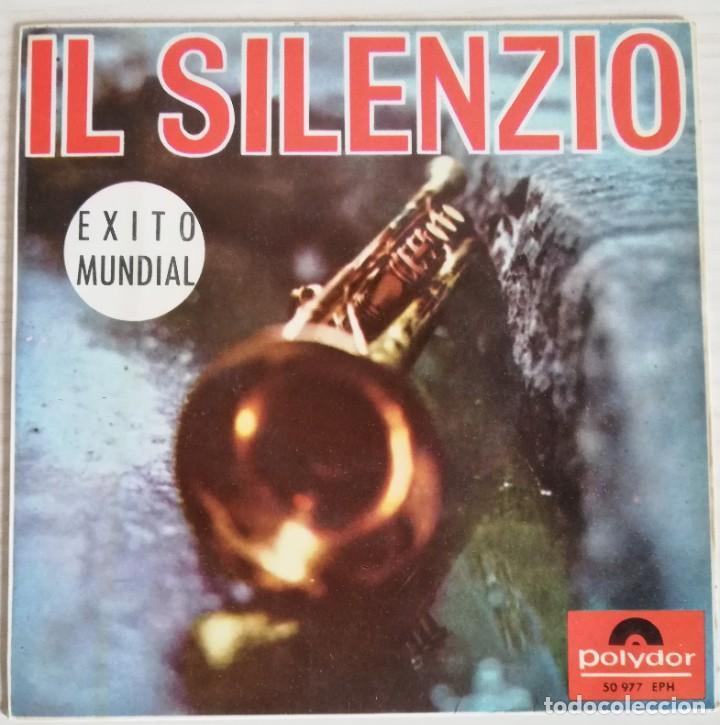 DISCO DE VINILO EP VARIOS ARTISTAS--IL SILENZIO (Música - Discos de Vinilo - EPs - Jazz, Jazz-Rock, Blues y R&B)