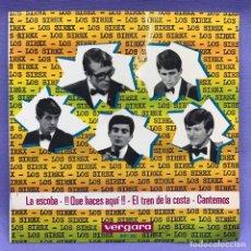 Discos de vinilo: SINGLE LOS SIREX . LA ESCOBA + 3. EP. VERGARA 317 -XC. Lote 204326612