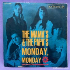 Discos de vinilo: SINGLE THE MAMAS & THE PAPAS MONDAY MONDAY. Lote 204327818