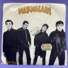 Discos de vinilo: SINGLE, MERMELADA: TAN SOLO. Lote 204330106