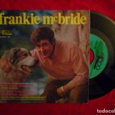 "Discos de vinilo: 7"" FRANKIE MCBRIDE FIVE LITTLE FINGERS (CINCO DEDITOS) PROMO - SINGLE - SPAIN (EX-/EX-). Lote 204335066"