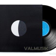 Disques de vinyle: 100 FUNDAS INTERIORES DE PAPEL NEGRO + ANTIESTÁTICO PARA DISCO DE VINILO LP - ALTA CALIDAD -. Lote 204338246