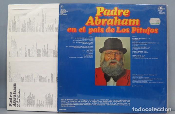 Discos de vinilo: LP. PADRE ABRAHAM. EN EL PAIS DE LOS PITUFOS - Foto 2 - 204340988