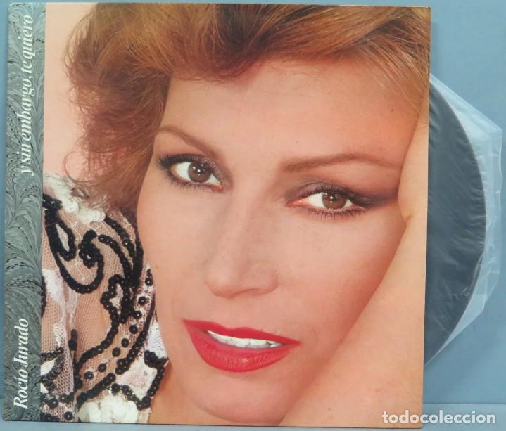 LP. ROCÍO JURADO. Y SIN EMBARGO, TE QUIERO (Música - Discos - LP Vinilo - Flamenco, Canción española y Cuplé)