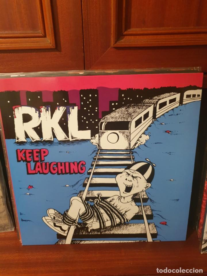 RKL / KEEP LAUGHING / NO FUTURO 2017 (Música - Discos - LP Vinilo - Punk - Hard Core)