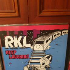 Disques de vinyle: RKL / KEEP LAUGHING / NO FUTURO 2017. Lote 204346458