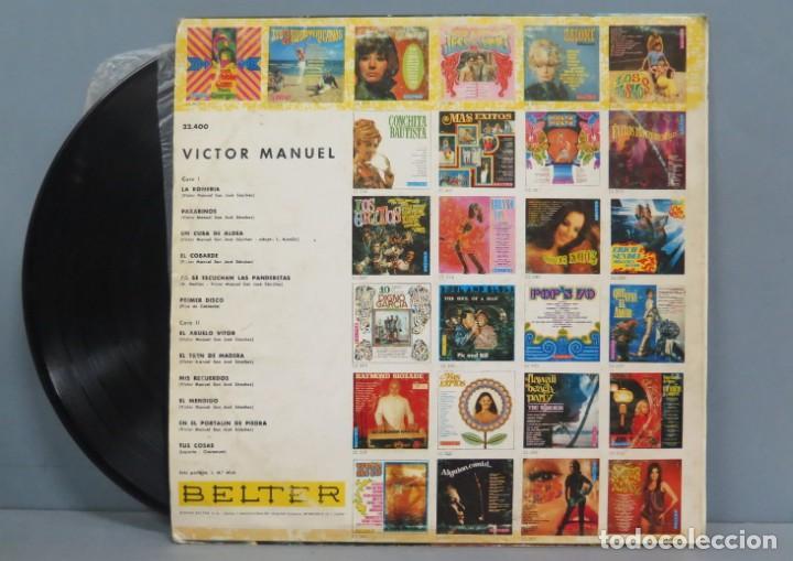 Discos de vinilo: LP. VICTOR MANUEL. EL TREN DE MADERA - Foto 2 - 204347400