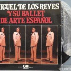 Discos de vinilo: LP. MIGUEL DE LOS REYES. Y SU BALLET DE ARTE ESPAÑOL. Lote 204347811