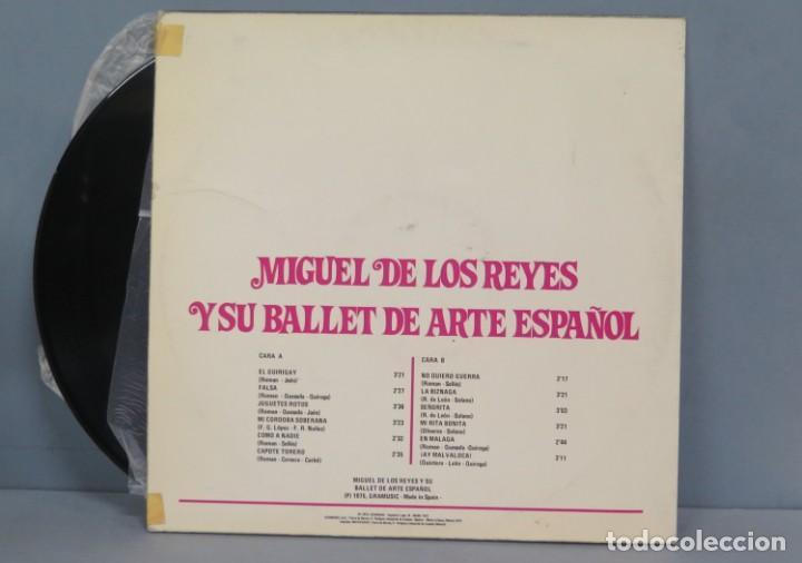 Discos de vinilo: LP. MIGUEL DE LOS REYES. Y SU BALLET DE ARTE ESPAÑOL - Foto 2 - 204347811