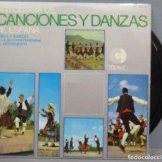 Discos de vinilo: LP. ANTOLOGIA DE CANCIONES Y DANZAS DE ESPAÑA. Lote 204348326