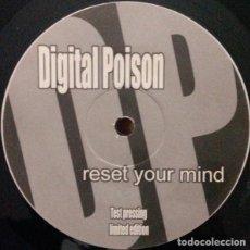 Discos de vinilo: DIGITAL POISON _– RESET YOUR MIND. Lote 204348960