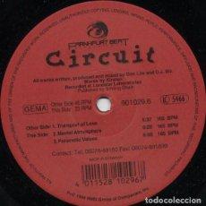 Discos de vinilo: CIRCUIT _– TRANSPORT OF LOVE. Lote 204348996