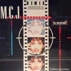 Discos de vinilo: M.C.J. _– (TO YOURSELF) BE FREE. Lote 204349005