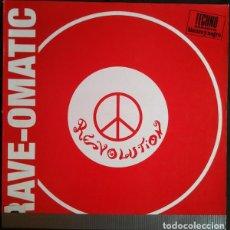 Discos de vinilo: RAVE-OMATIC _– REVOLUTION. Lote 204349033