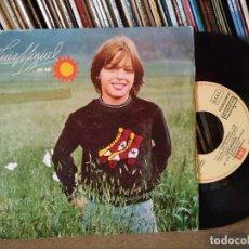 Discos de vinilo: LUIS MIGUEL, SG, 1 + 1 = 2 ENAMORADOS + 1, AÑO 1982. Lote 204363410