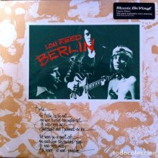 Discos de vinilo: LOU REED ( VELVET UNDERGROUND )* BERLIN * LP VINILO 180G AUDIOPHILE VIRGIN VINYL * SELLADO. Lote 219772530