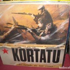 Discos de vinilo: KORTATU -LP EL ESTADO DE LAS COSAS - ORIGINAL SOÑUA. Lote 204375351