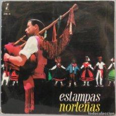 Discos de vinilo: LP. ESTAMPAS NORTEÑAS. Lote 204376460