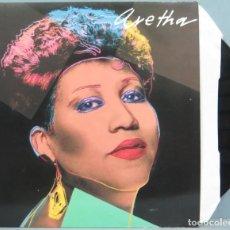 Discos de vinilo: LP. ARETHA FRANKLIN. ARETHA. JIMMY LEE. Lote 204377003