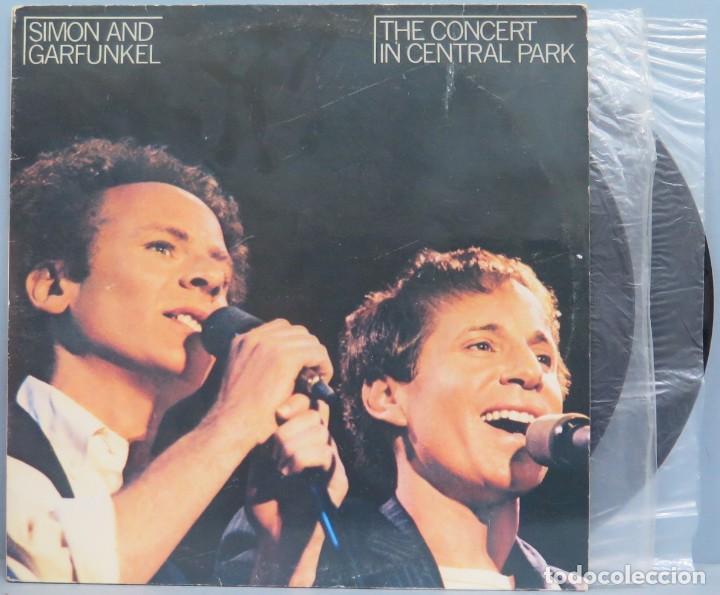 LP. SIMON AND GARFUNKEL. THE CONCERT IN CENTRAL PARK (Música - Discos de Vinilo - EPs - Pop - Rock - New Wave Extranjero de los 80)