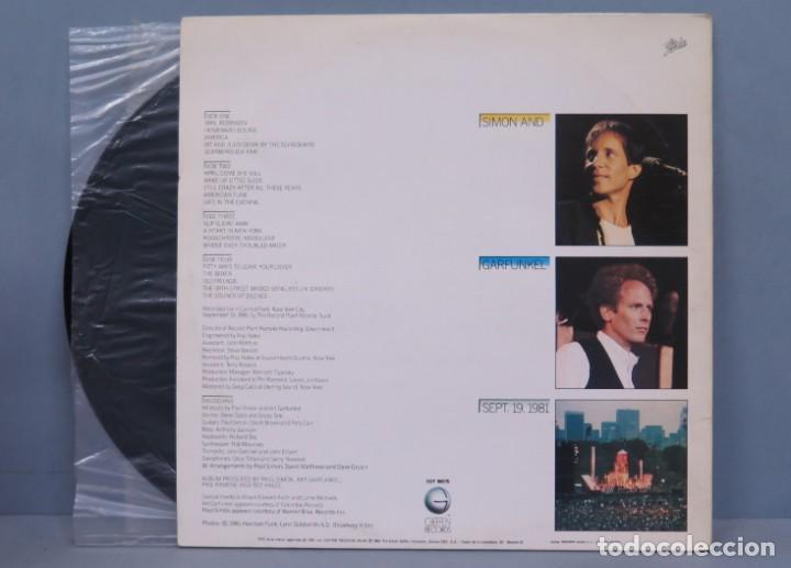 Discos de vinilo: LP. SIMON AND GARFUNKEL. THE CONCERT IN CENTRAL PARK - Foto 2 - 204377062