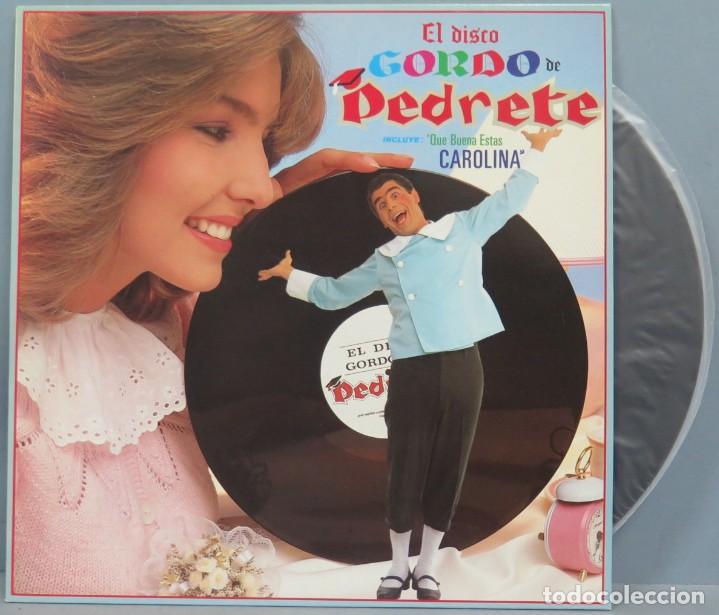 LP. EL DISCO GORDO DE PEDRETE. PEDRO RUIZ (Música - Discos - LP Vinilo - Cantautores Españoles)
