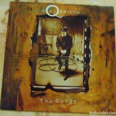Disques de vinyle: ROY ORBISON– YOU GOT IT - SINGLE 1989. Lote 204380375