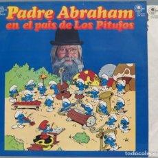 Discos de vinilo: LP. PADRE ABRAHAM. EN EL PAIS DE LOS PITUFOS. Lote 204380382