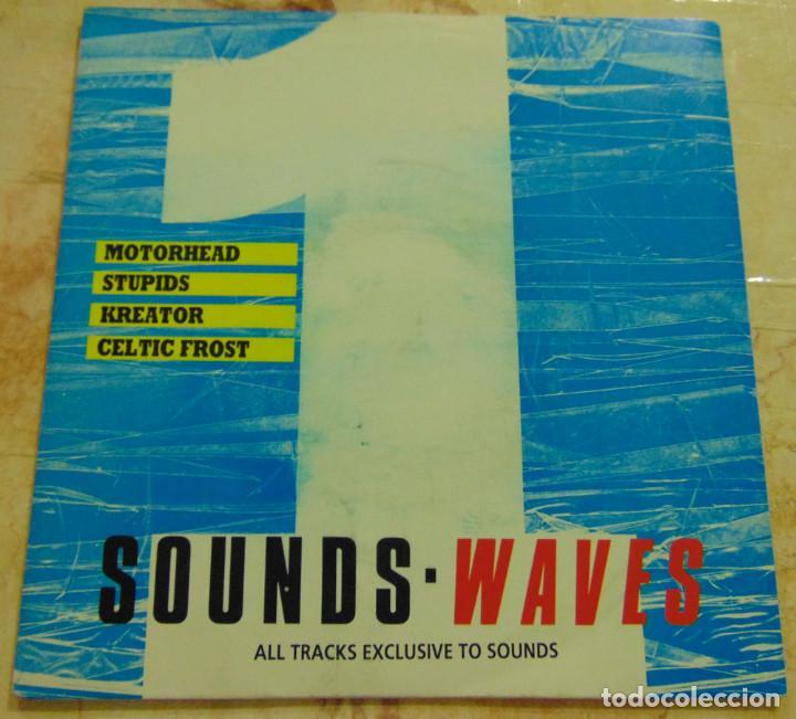 WAVES 1 - MOTORHEAD / STUPIDS / KREATOR / CELTIC FROST - EP 1988 (Música - Discos de Vinilo - EPs - Heavy - Metal)