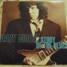 Disques de vinyle: GARY MOORE– STORY OF THE BLUES - SINGLE 1992. Lote 204380765