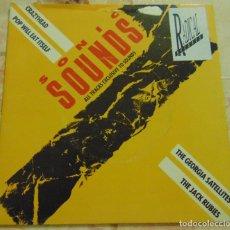 Discos de vinilo: SONIC SOUNDS 1 - GEORGIA SATELLITES / JACK RUBIES Y MAS - EP 1987. Lote 204381090
