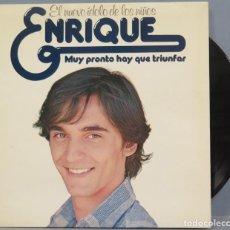 Discos de vinilo: LP. ENRIQUE. MUY PRONTO HAY QUE TRIUNFAR. Lote 204381492