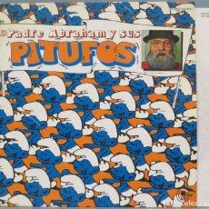 Discos de vinilo: LP. EL PADRE ABRAHAM Y SUS PITUFOS. Lote 204381655