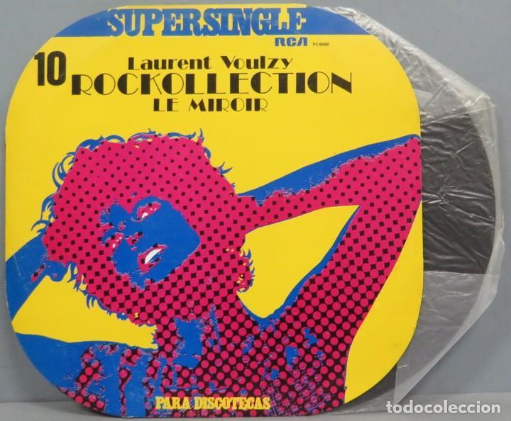 SUPERSINGLE. 10. LAURENT VOULZY (Música - Discos de Vinilo - Maxi Singles - Rock & Roll)