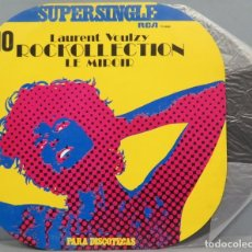 Discos de vinilo: SUPERSINGLE. 10. LAURENT VOULZY. Lote 204382338