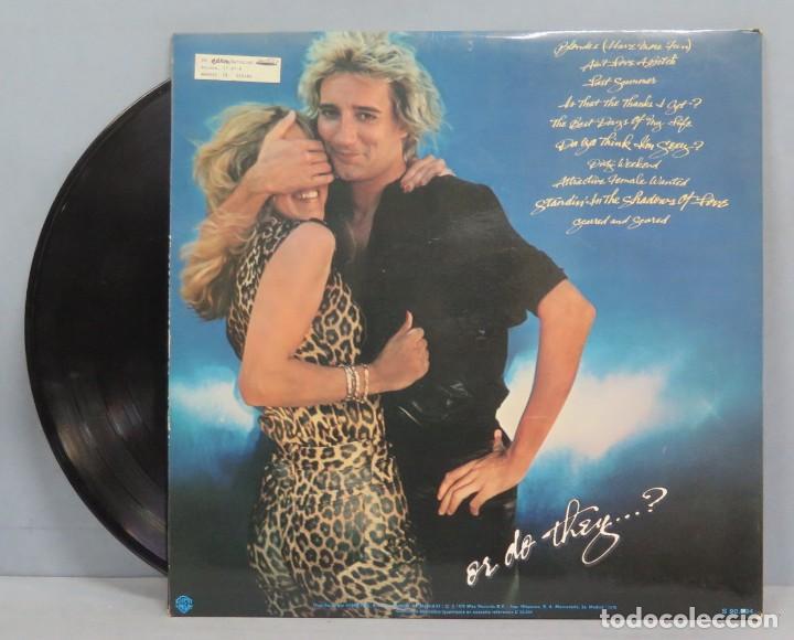 Discos de vinilo: LP. ROD STEWART. BLONDES HAVE MORE FUN - Foto 2 - 204382423