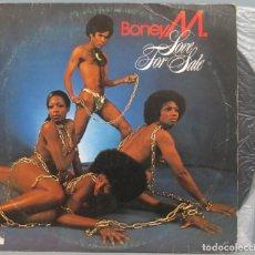 Discos de vinilo: LP. BONEY M. LOVE FOR SALE. Lote 204382710