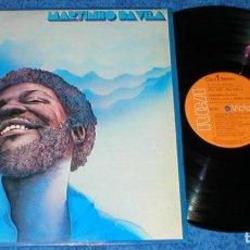 Discos de vinilo: MARTINHO DA VILA SPAIN LP CANTA CANTA MINHA GENTE ORIGINAL 1975 BOSSA NOVA SAMBA LATIN FOLK COUNTRY. Lote 204391052