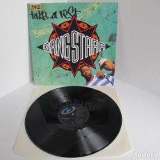 Discos de vinilo: GANGSTARR / TAKE A REST / MAXI 12 UK INGLES / HIP HOP RAP / VINILIO VG++. Lote 204400696