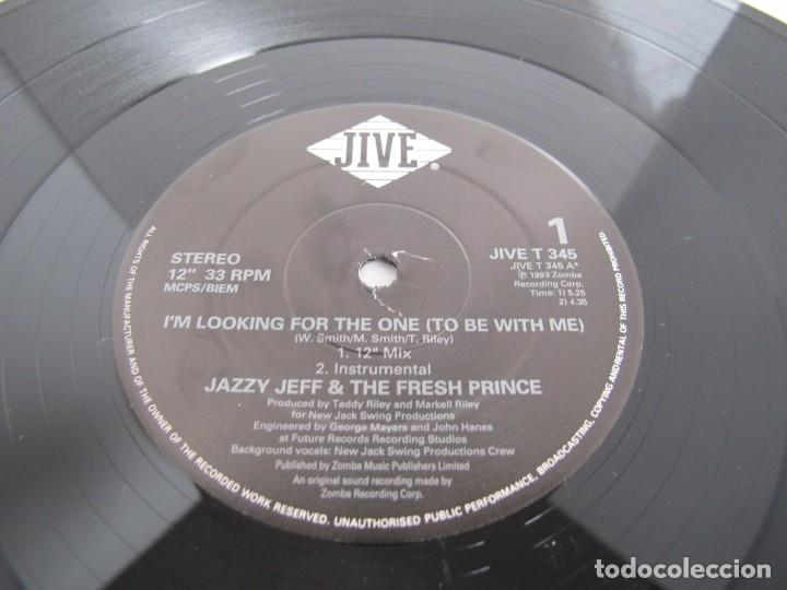JAZZY JEFF & THE FRESH PRINCE / IM LOOKING FOR THE ONE / MAXI 12 UK INGLES / HIP HOP R N B / VG++ (Música - Discos de Vinilo - Maxi Singles - Rap / Hip Hop)