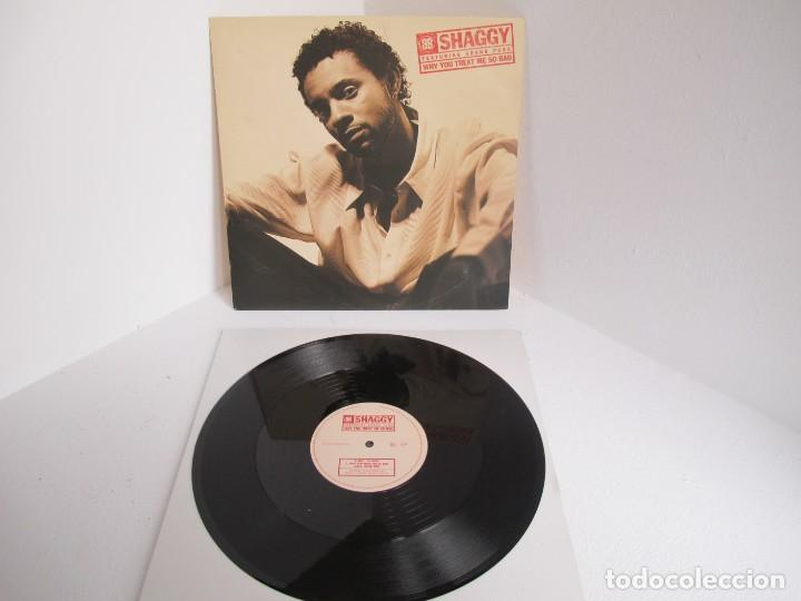SHAGGY / WHY YOU TREAT ME SO BAD / MAXI 12 UK INGLES / HIP HOP RAGGA / VINILIO / VG++ (Música - Discos de Vinilo - Maxi Singles - Rap / Hip Hop)